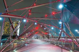 Puente de hélice en Singapur