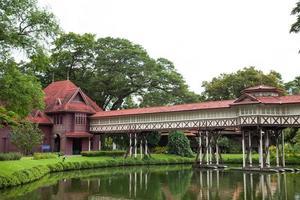 Palacio en la provincia de Nakhon Pathom en Tailandia foto