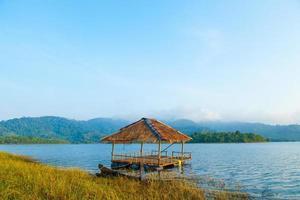 Lake in Thailand photo