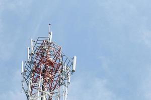 Telecommunications systems antenna photo