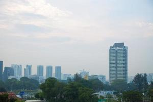 High-rise buildings in Singapore