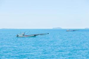 Small fishing boat in Thailand