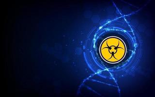 virus disease spread medical healthcare design concept background vector