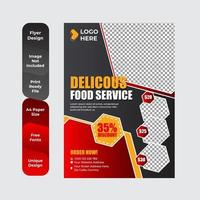 Flyer template for breakfast restaurant business