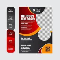 Delicious Food Brochure or Flyer Design