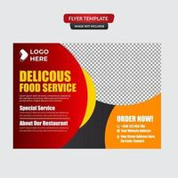Restaurant Food Menu Vintage Design Template vector