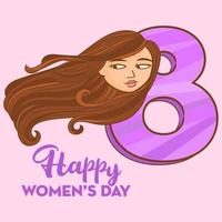 Women's Day 8th March vector