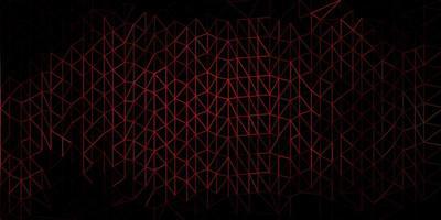 Dark multicolor vector triangle mosaic backdrop.
