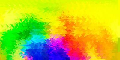 Light multicolor vector gradient polygon texture.
