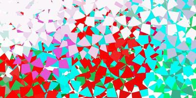 Light vector pattern with polygonal style.