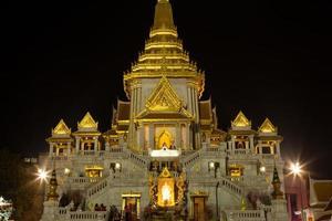 Golden Buddha Temple in Thailand photo
