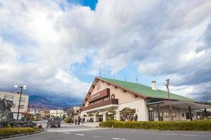 Nikko train station in Japan