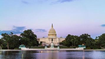 The United States Capitol Building, Washington DC