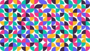 Geometric minimalist minimalist style art poster Abstract pattern design in scandinavian style vector