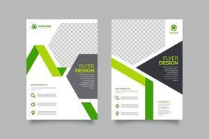 Colección de plantillas de folletos comerciales de volantes vector