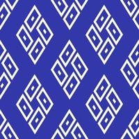 Blue color seamless geometric background.