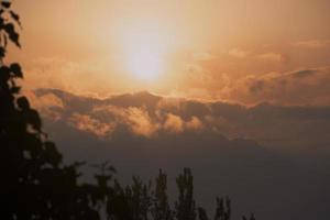 Sunrise in Kashmir, Himalayas