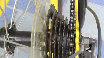 Close-up of gears