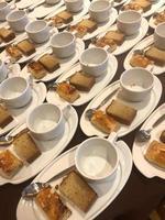 Plates of breakfast photo