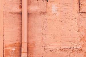 Peach textured wall