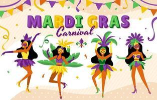 Mardi Gras Carnival Celebration