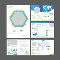Business Template Flyer vector