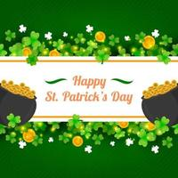 St. Patrick's Day Shamrock Clover vector