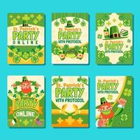 St Patricks Day Party with Protocol vector