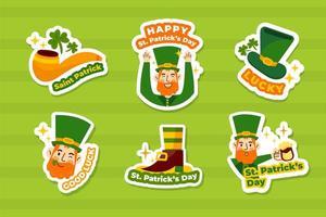 St. Patrick's Day Leprechaun Sticker Set