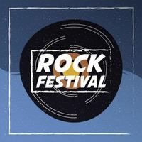 rock festival entertainment invitation poster