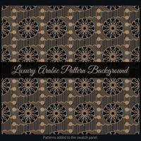 Luxury Arabic Pattern Background