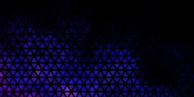 Dark Blue Background with Polygonal Style vector