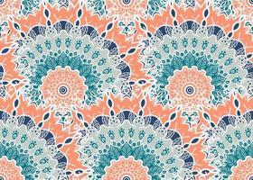 Mandala Seamless Pattern vector