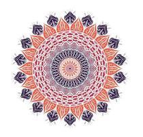 Mandala Line Template vector