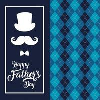 Father's day celebration design vector