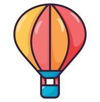 Balloon air illustration fullcolor