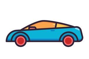 car transport illustration fullcolor