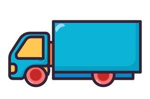Truck illustration fullcolor