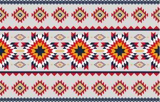 El arte abstracto geométrico patrón nativo vector transparente repetición de fondo geométrico.