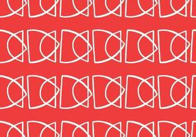 Vector texture background, seamless pattern. Hand drawn, red, white colors.