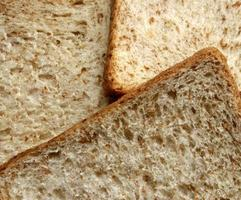 Wheat bread slices