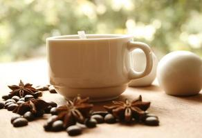 Coffee with anise photo