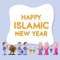 Kids Give Islamic New Year Greeting