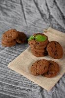 galletas en un paño foto