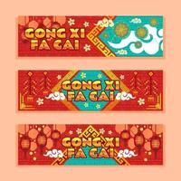 Chinese Lucky Event with Gold and Red Color vector