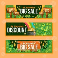 Big Sale Banner for St Patrick's Event