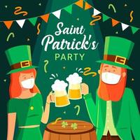 Saint Patrick's Party with New Normal Protocol
