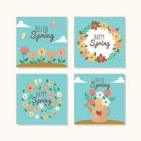Multiple Iteration of Spring Vibe vector