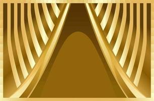 Gold Elegant Veil Luxury Abstract Background