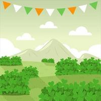 Clover Nature Landscape vector